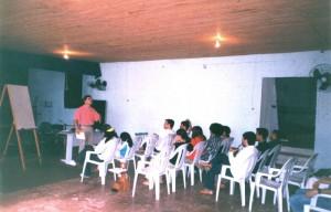 Primeiras turmas de estudo em 2005.